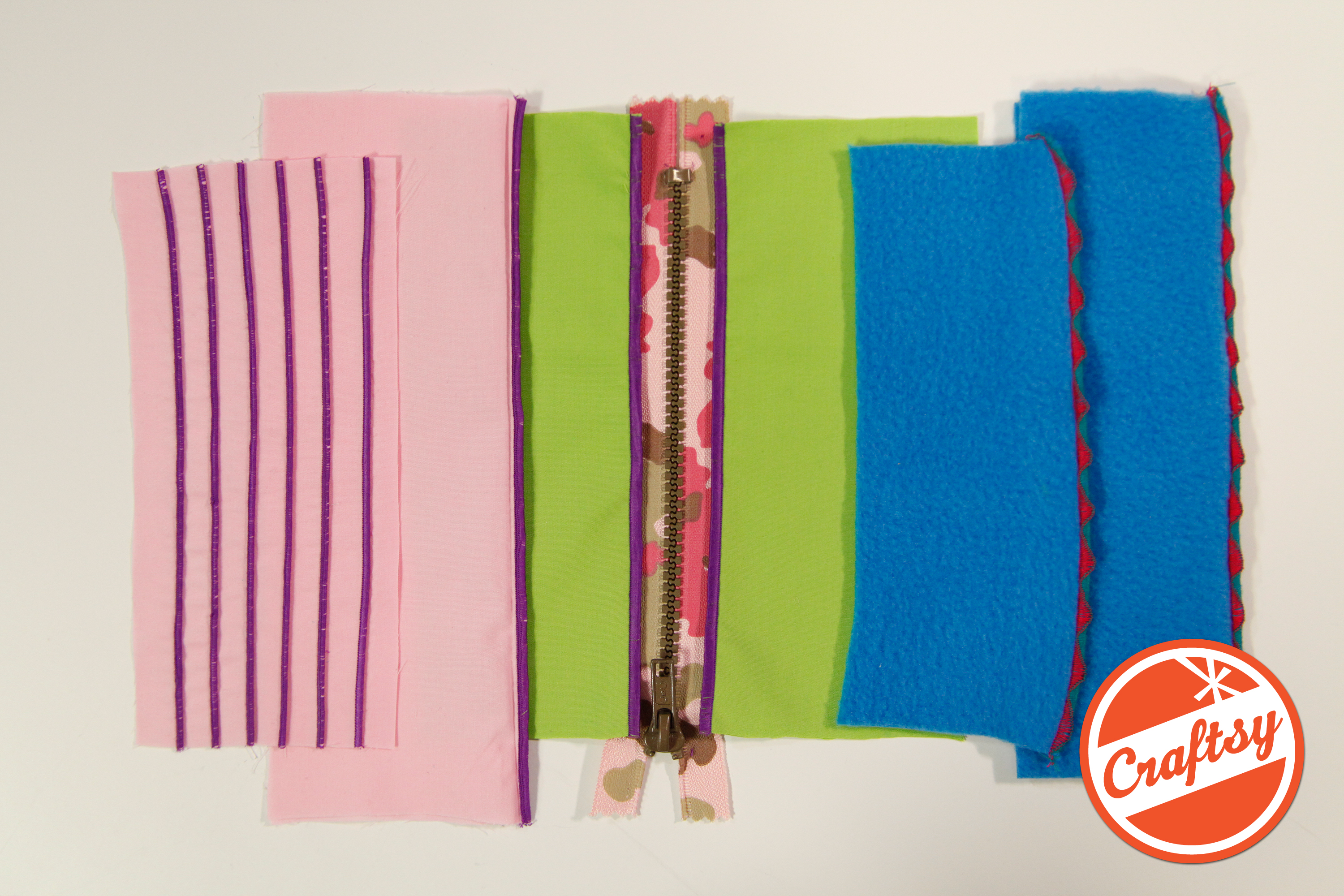 Looking for more creative serging ideas? Join my on Craftsy with 50% OFF today!