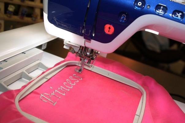 Princess Embroidery on Silk