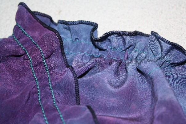 Elastic Thread Ruching on a Coverstitch plus FREE SERGING CLASS!