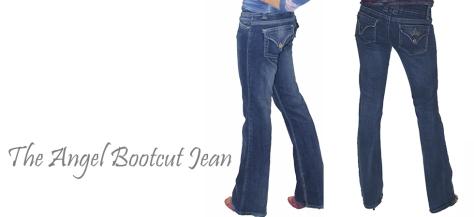 Angela Wolf Bootcut Jean