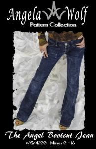 The Angel Bootcut Jean AW4200 Angela Wolf