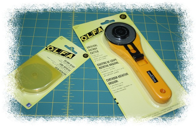 Time-saving Sewing Tip!  Pre-cut interfacing with Olfa in minutes!