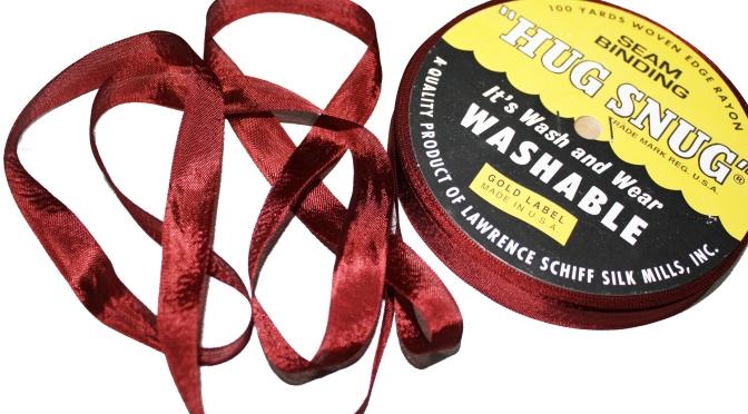 Product Review – Hug Snug Seam Binding for Hemming
