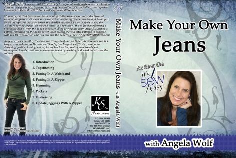 KS Productions - Angela Wolf - Jeans DVD Slipsheet