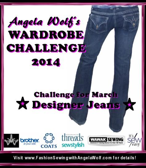 wardrobe challenge march