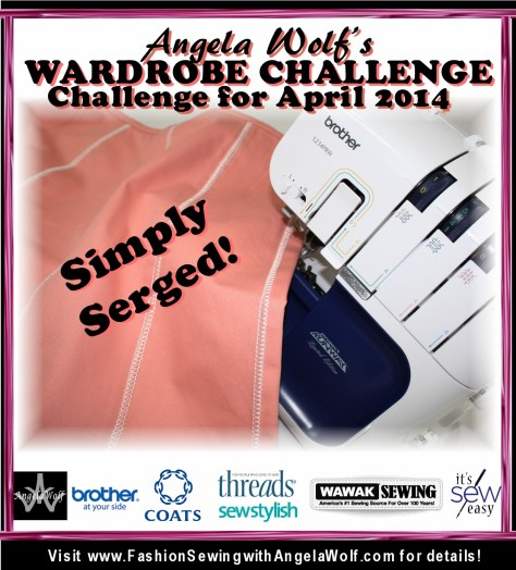 April wardrobe challenge short