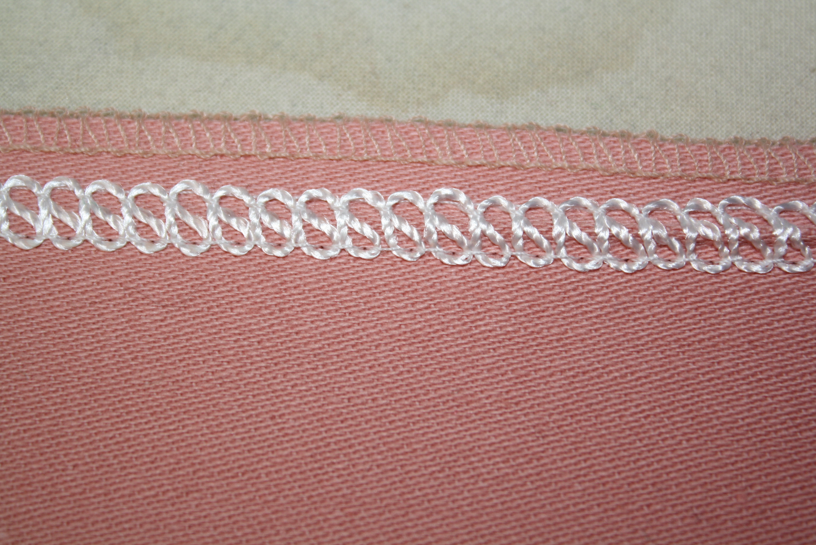 flat lock stitching with Angela Wolf