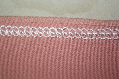 flat lock stitching with Angela Wolf
