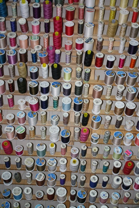 organize sewing thread angela wolf wawak