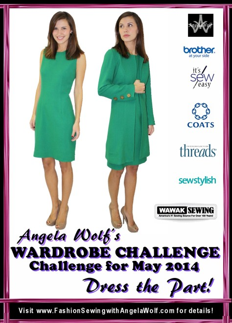 Angela Wolf May 2014 Wardobe Challenge