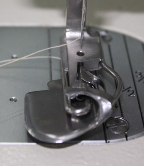 How to sew a double fold narrow hem DIY13