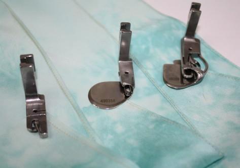 How to sew a double fold narrow hem DIY26