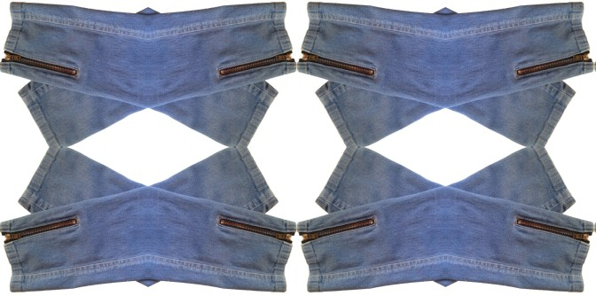 How to Sew Exposed Zippers in Jeans and Jeggings!