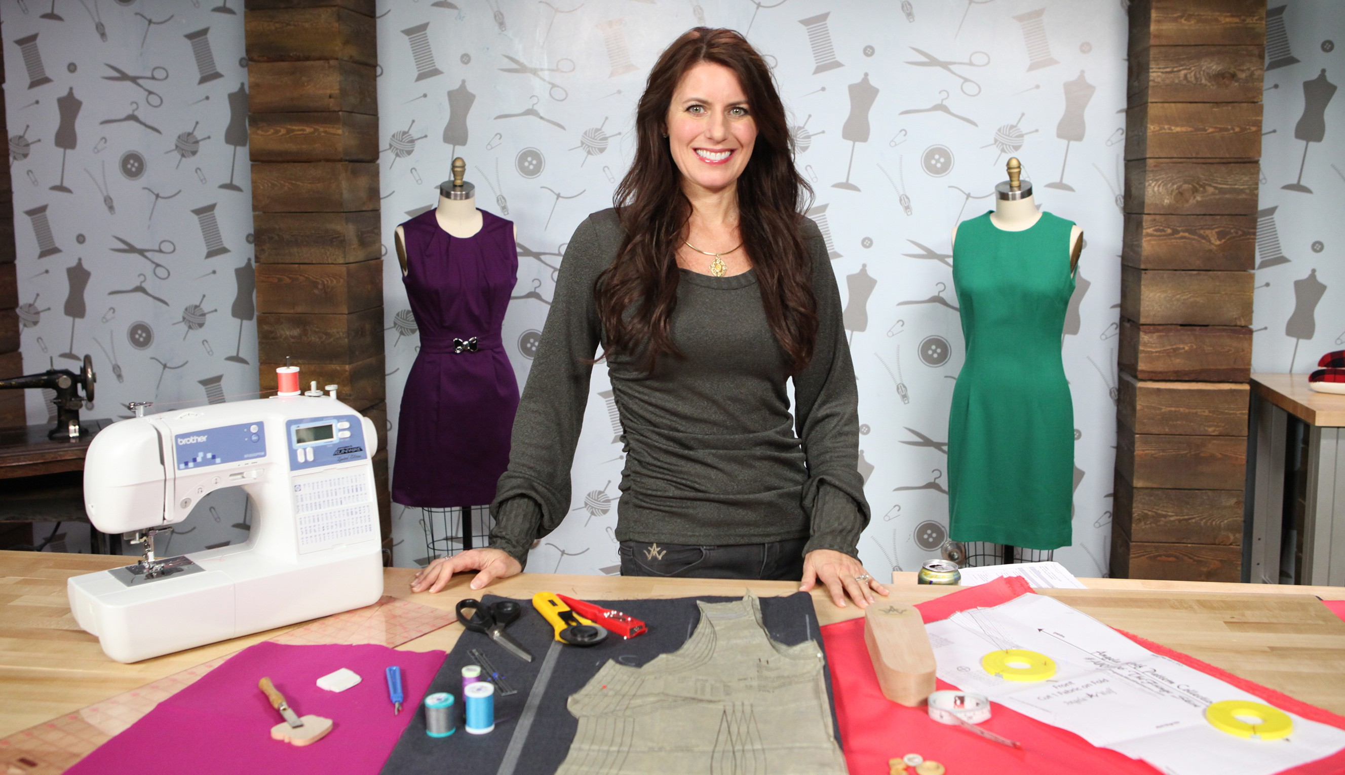 Angela Wolf sewing for beginners Crafty